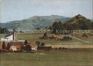 Wachtkueppel Poppenhausen Wasserkuppe mit Pferdskopf Kat. Poppenhausen (Wasserkuppe)