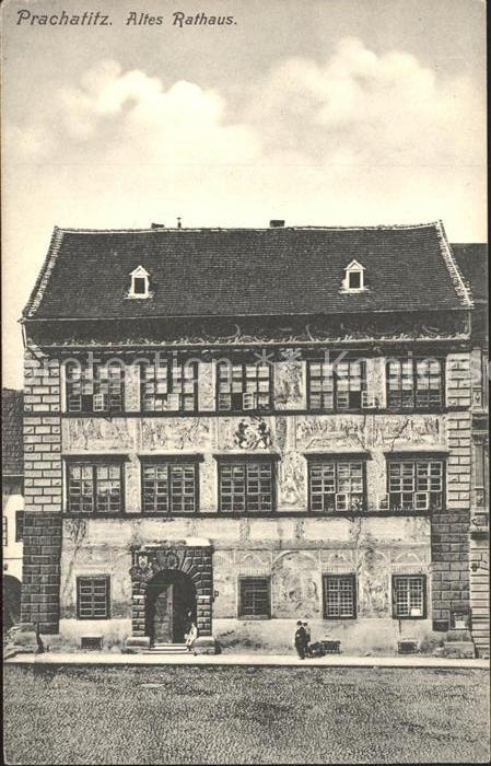 Prachatice Altes Rathaus / Prachatitz /