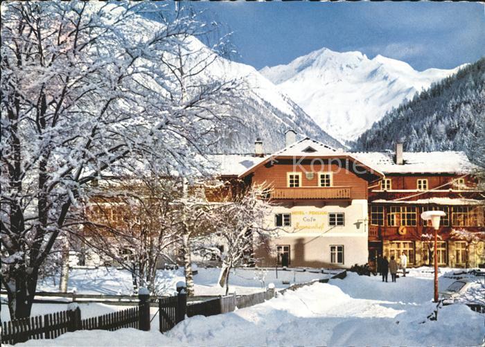 Mallnitz Kaernten Hotel Pension Cafe Sonnenhof Kat. Mallnitz