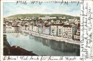 Zuerich Limmatquai / Zuerich /Bz. Zuerich City