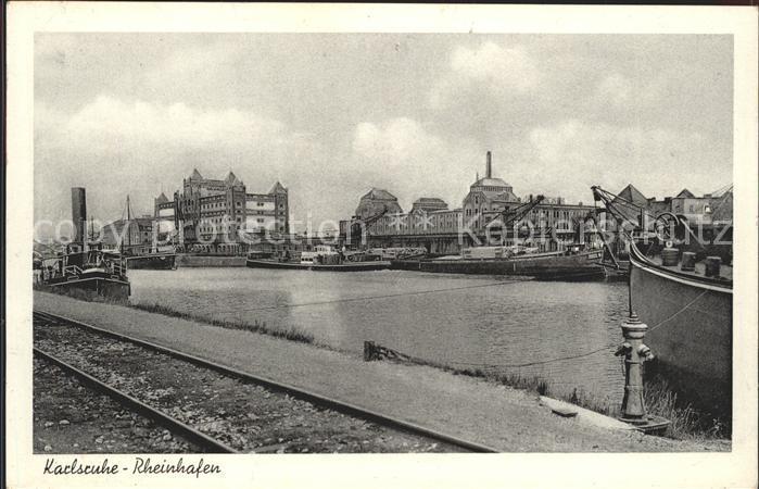 Karlsruhe Rheinhafen Kat. Karlsruhe