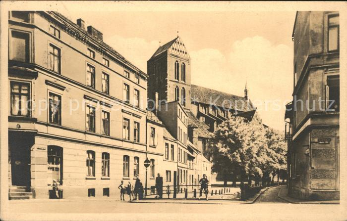 Wismar Mecklenburg Vorpommern Nikolaikirche Kat. Wismar