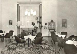 Belzig Sanatorium Aufenthaltsraum im Parkhaus Kat. Belzig