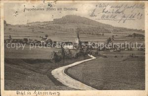 Poppenhausen Wasserkuppe mit Ebersberg Kat. Poppenhausen (Wasserkuppe)