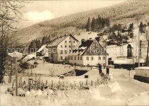 Wildenthal Eibenstock Erzgebirge Blck zum Konsum Hotel Am Auersberg Kat. Eibenstock