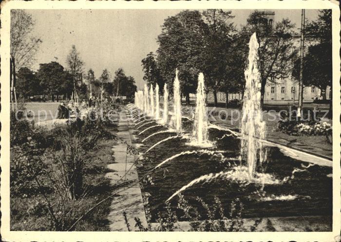Karlsruhe Wasserspiele am Festplatz Kat. Karlsruhe