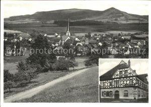 Poppenhausen Wasserkuppe Gast- und Pensionshaus Zum Adler / Poppenhausen (Wasserkuppe) /Fulda LKR