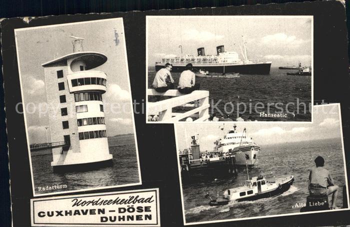 Doese Cuxhaven Radarturm Hanseatic Alte Liebe