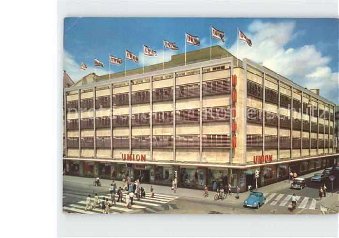 7000 Stuttgart Kaufhaus Union Restaurant 1955 Nr