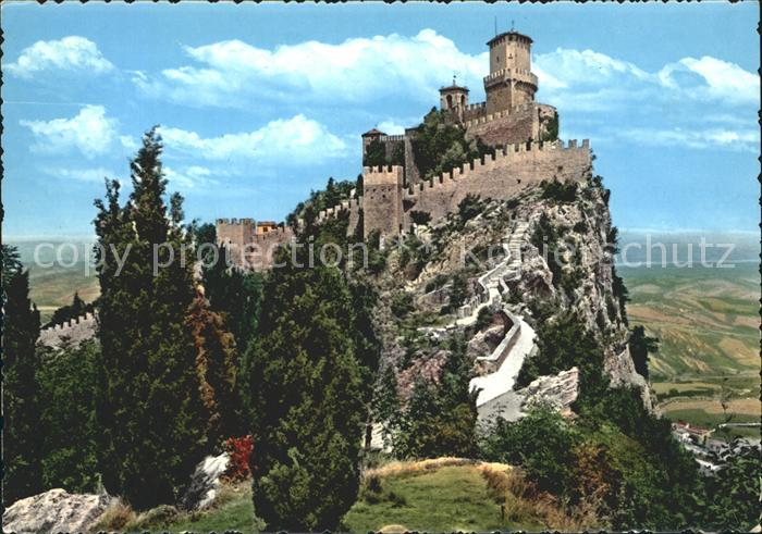 San Marino San Marino Festung Kat. San Marino