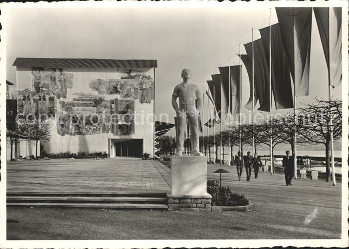 Zuerich Schweizer Landesausstellung 1939 / Zuerich /Bz. Zuerich City