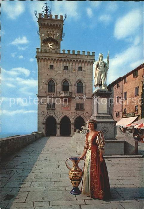 San Marino San Marino Burg Kat. San Marino