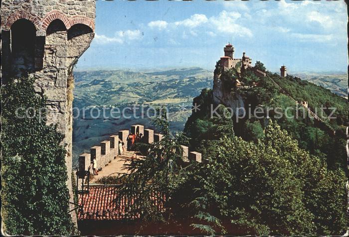 San Marino San Marino 3 Tuerme Kat. San Marino