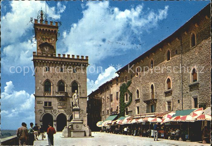 San Marino San Marino Burg Alstadt Kat. San Marino