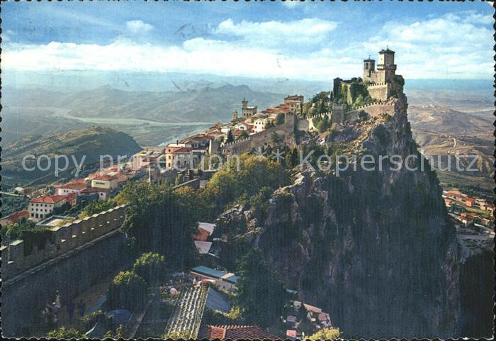 San Marino San Marino Turm  Kat. San Marino