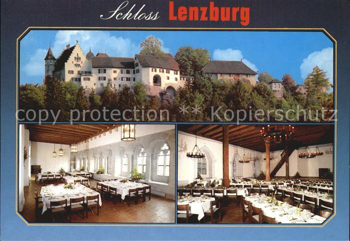 Lenzburg Schloss Lenzburg Speisesaal Kat. Lenzburg