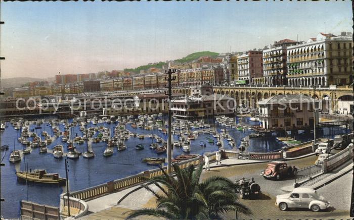 Alger Algerien Rampes Amiraute Boulevard Amiral Pierre
