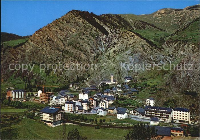 Canillo Panorama Kat. Andorra