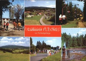 Fleckl Warmensteinach Ochsenkopf Moorbad  Kat. Warmensteinach