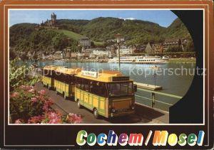 Cochem Mosel Panoramabahn Reichsburg Cochem Kat. Cochem
