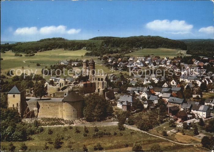 Greifenstein Hessen Burg Greifenstein Kat. Greifenstein