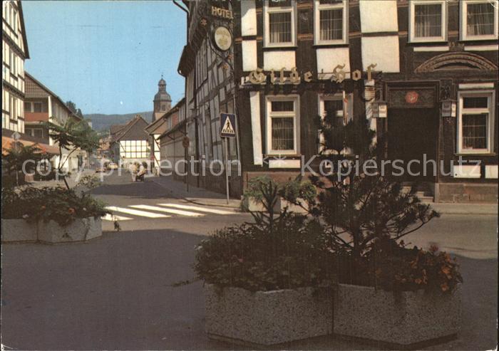 Einbeck Niedersachsen Alte Stadt Kat. Einbeck