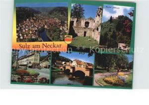 Sulz Neckar  Kat. Sulz am Neckar