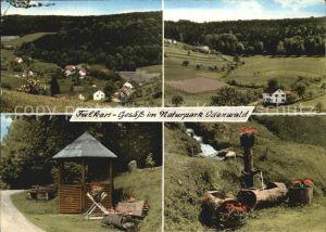 Falkengesaess Odenwald Naturpark Odenwald Gasthaus Pension Zum Schlawitzer Brunnentrog Kat. Rothenberg
