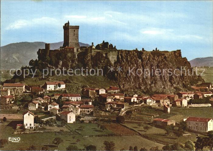 Puy en Velay Le Chateau de Polignac Kat. Le Puy en Velay
