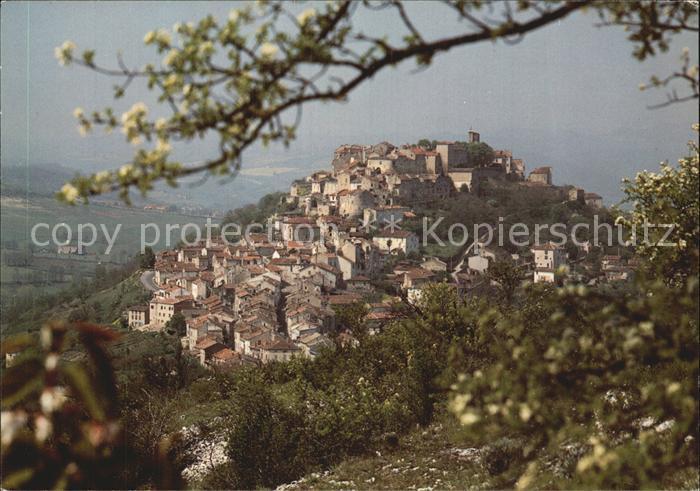 Cordes sur Ciel Ville fortifiee Cite residentielle de la Cour du Languedoc Site classe Vue generale Kat. Cordes sur Ciel