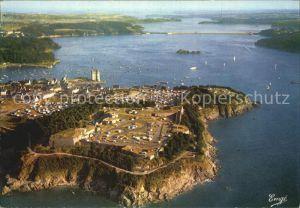 Saint Malo Ille et Vilaine Bretagne Camping de la Cite d Aleth Tour Solidor La Rance Vue aerienne Kat. Saint Malo