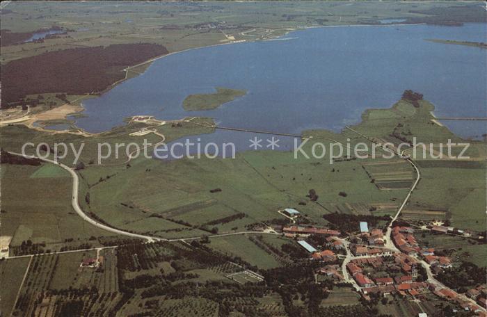 Nonsard Lamarche Fliegeraufnahme Lac de Madine Kat. Nonsard Lamarche