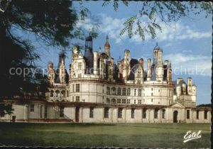 Chambord Blois Le Chateau de Chambord La facade sud Kat. Chambord