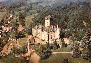 Polminhac Chateau de Pesteils Vue aerienne Kat. Polminhac
