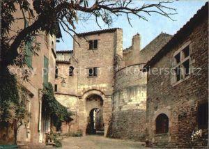Cordes sur Ciel La Porte des Ormeaux et la maison d Yves Brayer Kat. Cordes sur Ciel