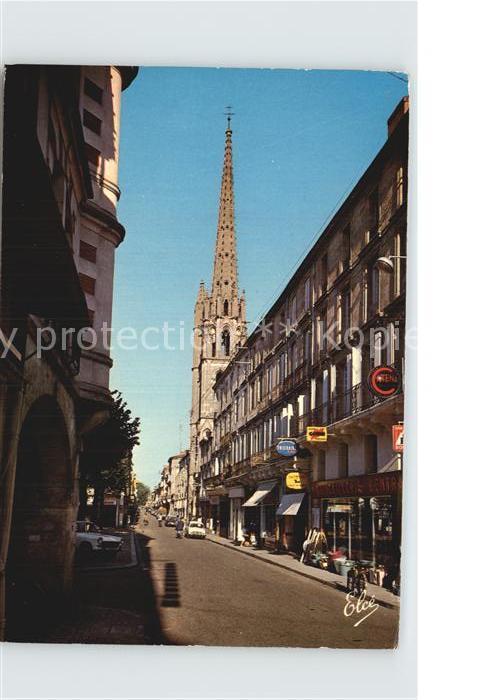 Sainte Foy la Grande Rue de la Republique Kat. Sainte Foy la Grande