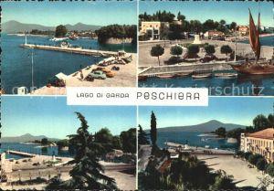 Peschiera Lago di Garda Uferpromenade Kat. Lago di Garda Italien