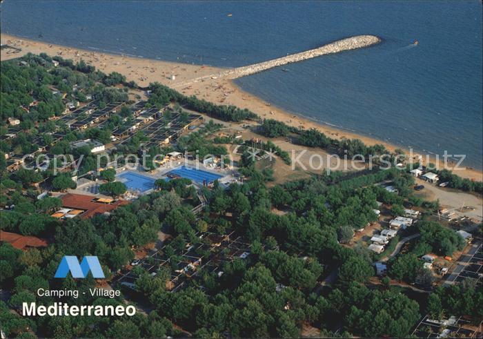 Ca Vio Camping Mediterraneo Fliegeraufnahme Kat. Ca San Vio