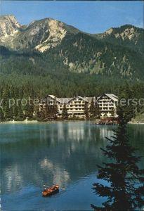Prags Pragser Wildsee Hotel Dolomiten Lago di Braies Dolomiti Kat. Pragser Tal