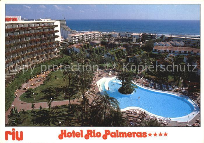 Playa del Ingles Gran Canaria Hotel Rio Palmeras Kat. San Bartolome de Tirajana