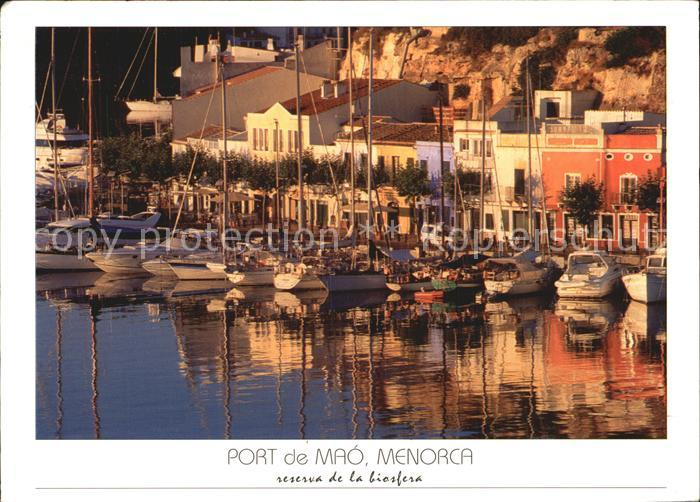 Menorca Port de Mao Kat. Spanien