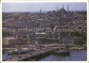 Istanbul Constantinopel Yeni Valide Mosque and Galata Bridge  Kat. Istanbul