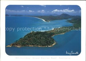 Whitehaven Great Barrier Reef View aerial Kat. United Kingdom