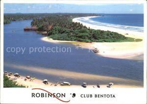 Bentota Sri Lanka Robinson Club Bentota Fliegeraufnahme Kat. Ahungalla