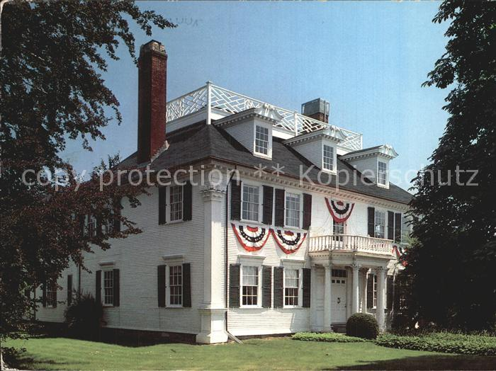 Portsmouth New Hampshire The Governor John Langdon House Kat. Portsmouth