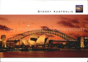 Sydney New South Wales Twilight on Sydney Harbour Sydney Opera House and Bridge Kat. Sydney