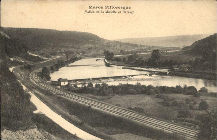 Maron Meurthe-et-Moselle Maron Vallee Moselle Barrage x / Maron /Arrond. de Nancy