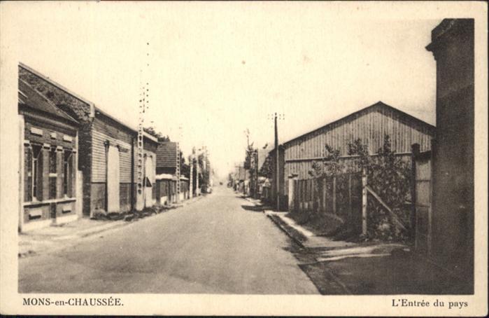 Estrees-Mons Entree du Pays / Estrees-Mons /Arrond. de Peronne