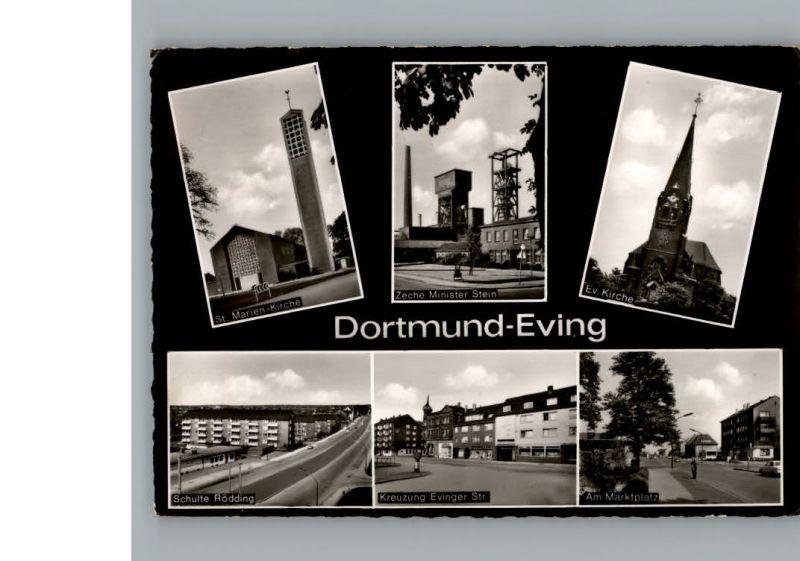 Eving Evinger Strasse Marktplatz Zeche Minister Stein / Dortmund /Dortmund Stadtkreis