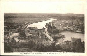 Montereau-Fault-Yonne Vue generale / Montereau-Fault-Yonne /Arrond. de Provins